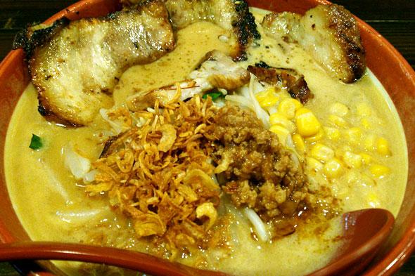 麺屋・國丸の北海道味噌 味噌漬け炙りチャーシュー麺