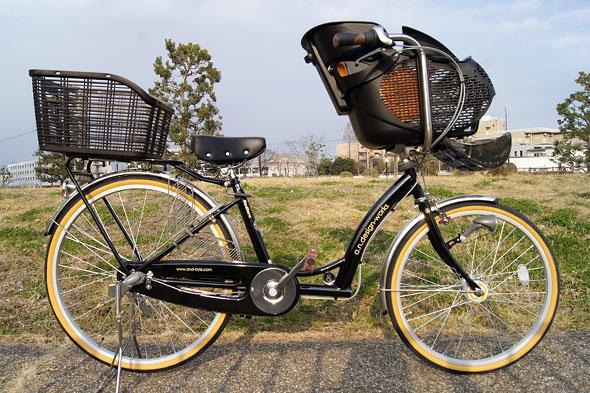 子供乗せ自転車a.n.d racco