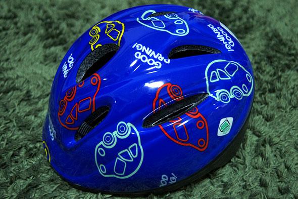 子供のヘルメット