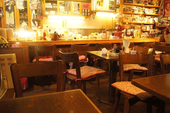 喫茶Yの店内