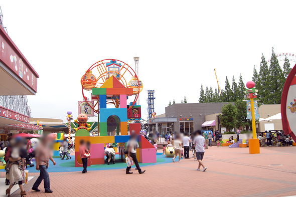 名古屋アンパンマンミュージアムの屋外施設