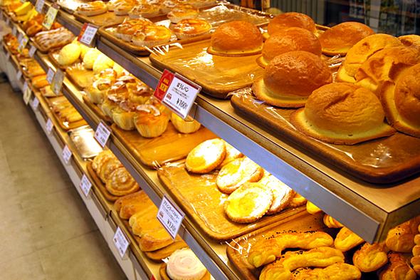 フレッズカフェのパン