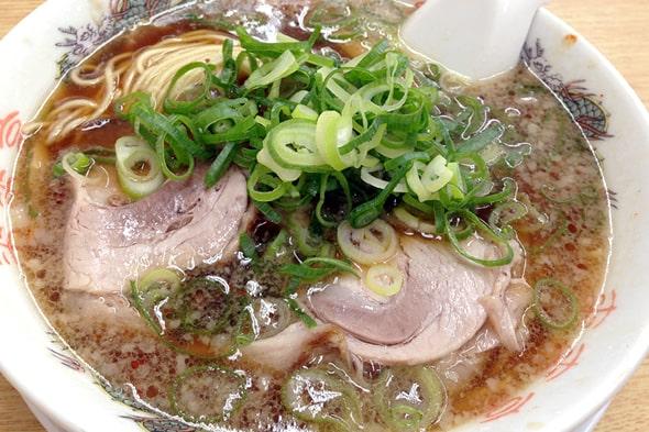来来亭のラーメン(醤油)