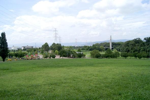 「芝生の丘」の頂上の丘の頂上