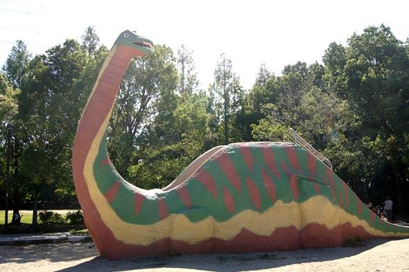恐竜スライダー