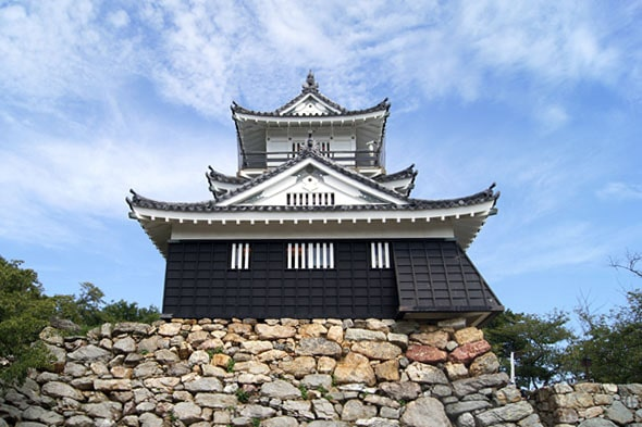正面からの浜松城