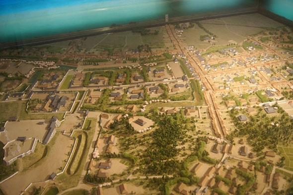 浜松城周辺の模型