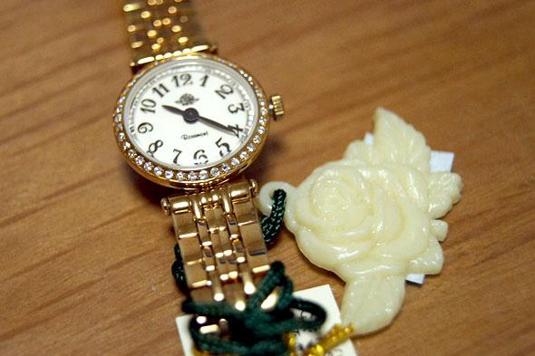 Rosemontの時計