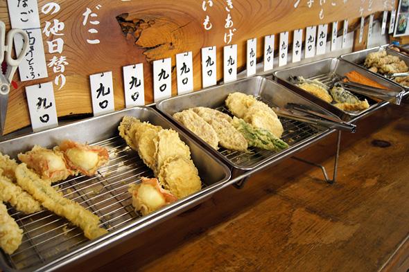 天ぷら・フライ