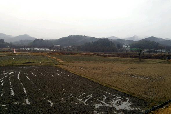 篠山ののどかな風景