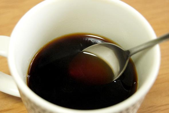 濃くておいしいコーヒー