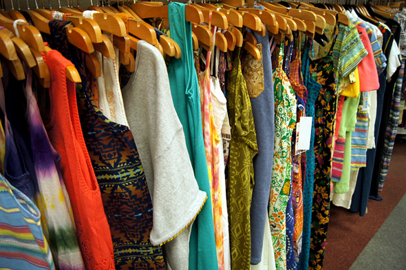 エスニック風の服