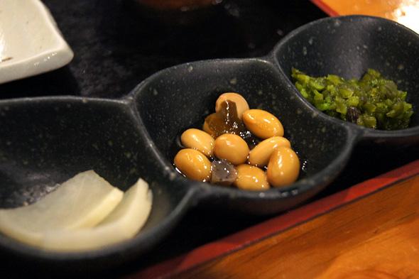 3種類の小鉢