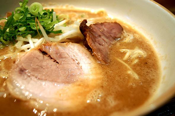 麺や輝の魚系とんこつラーメン
