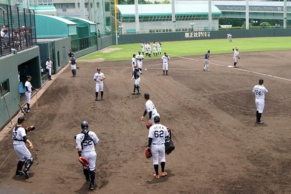 阪神の2軍の選手