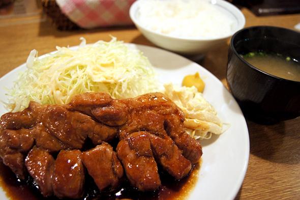 トンテキ定食(200g)