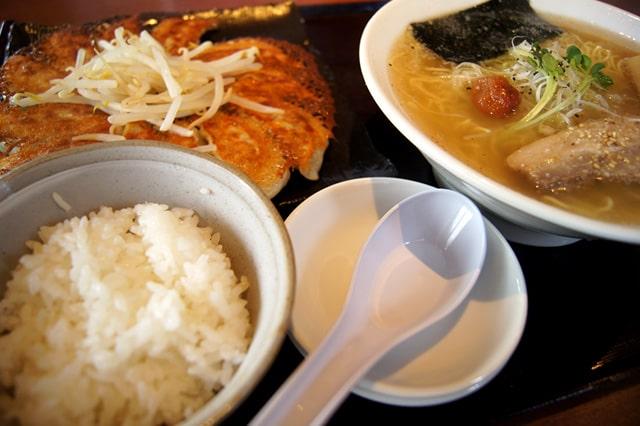ラーメン・餃子セット