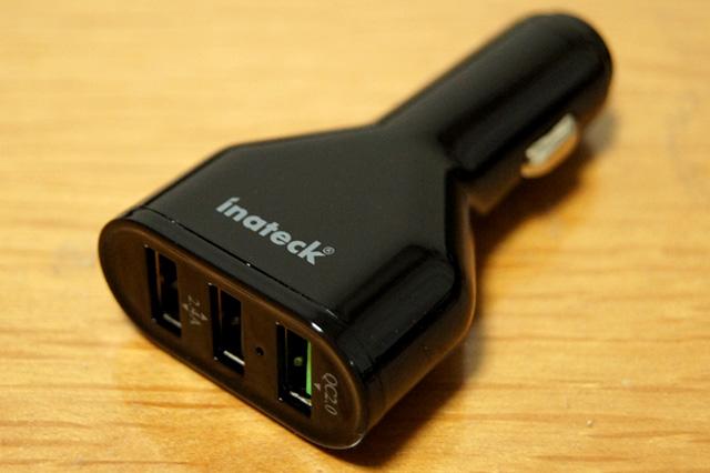 Inateck 3ポート USBカーチャージャー