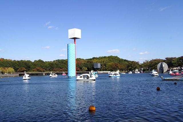 夢の池 サイクルボート