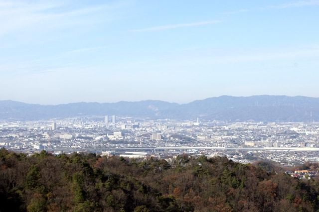 大阪と京都の景色