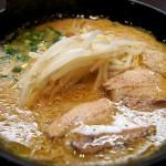 浜松「甘藍屋」でめちゃくちゃ濃厚な味噌スープがおいしいラーメン!