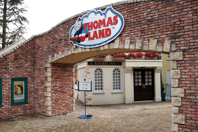 トーマスランドの入り口