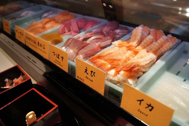 にぎり寿司のネタ