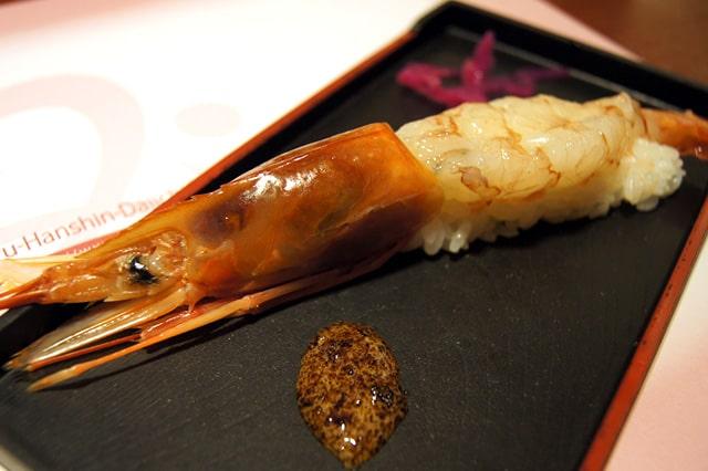 赤海老の姿寿司
