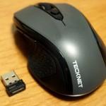 安いのに十分な性能!ワイヤレスマウス「TeckNet Pro」
