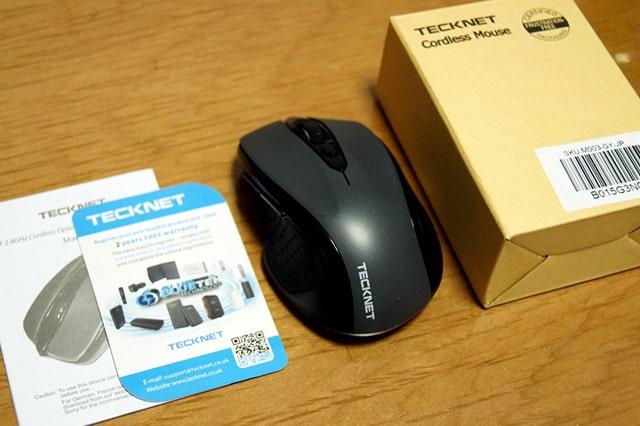 TeckNet Proの箱
