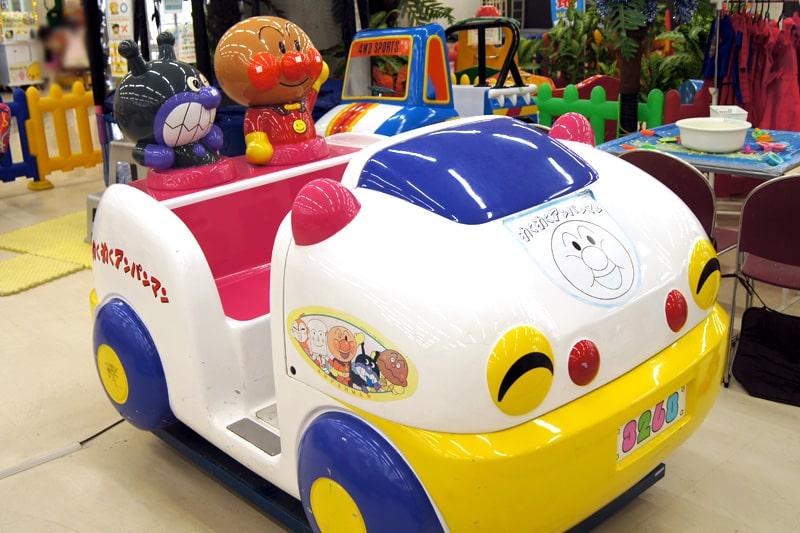 子供向けの乗り物