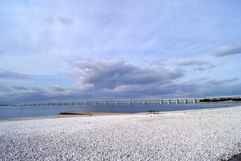 りんくう公園のマーブルビーチ
