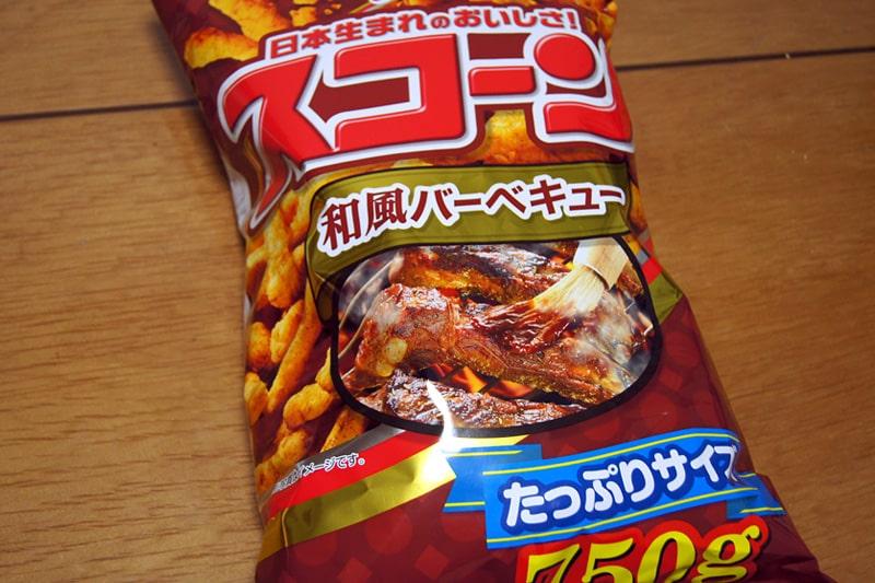 コイケヤ スコーン 和風バーベキュー味
