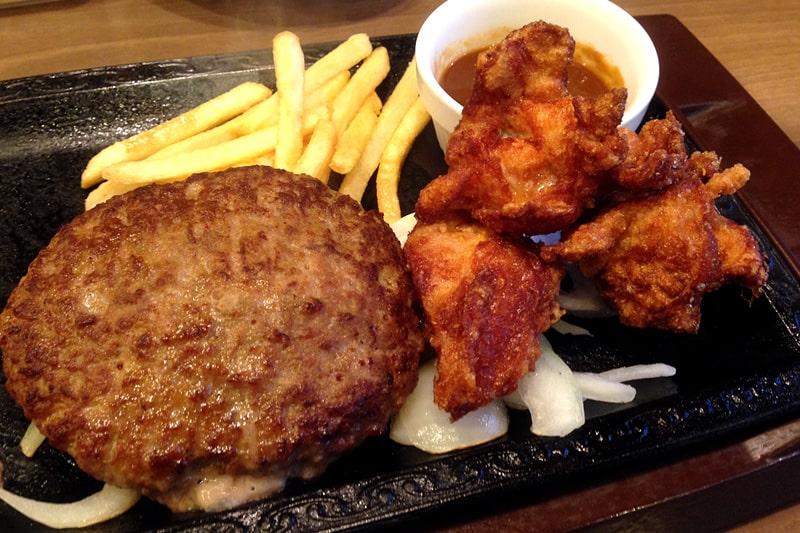 ステーキガストのハンバーグ