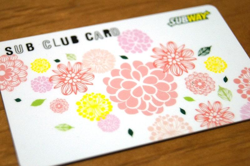 サブクラブカード