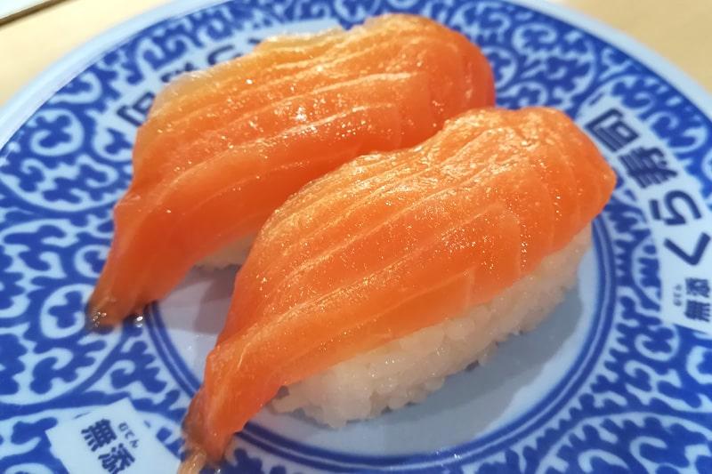 くら寿司のサーモン