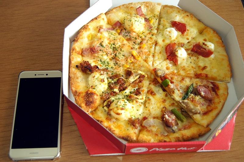 ピザハットMサイズ