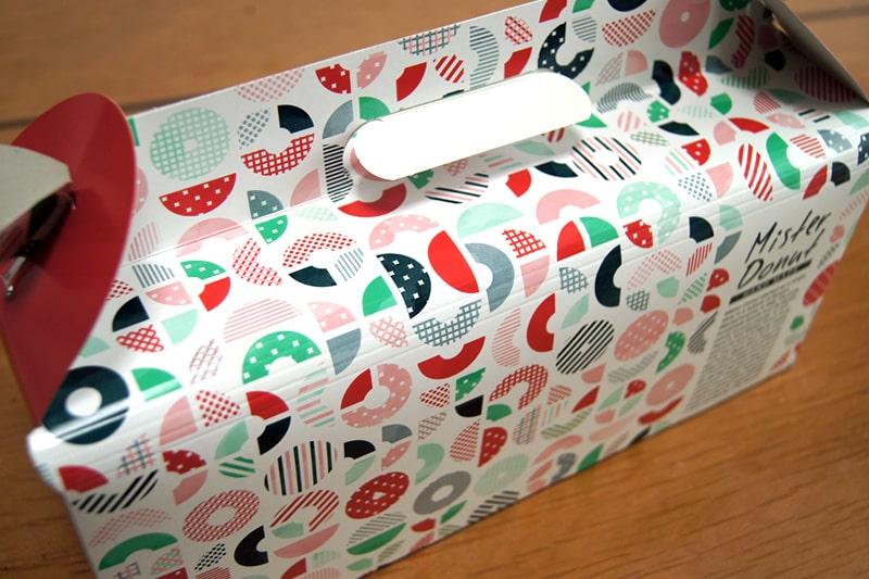 ミスタードーナツの箱