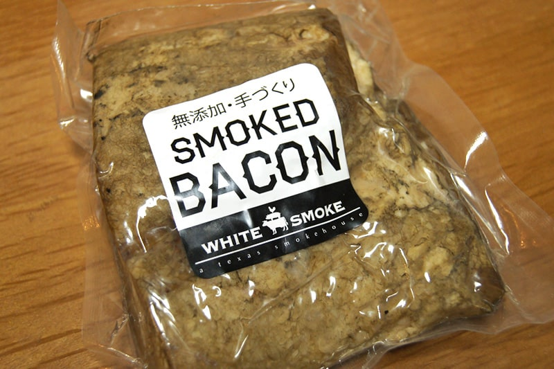 WHITE SMOKE BACON