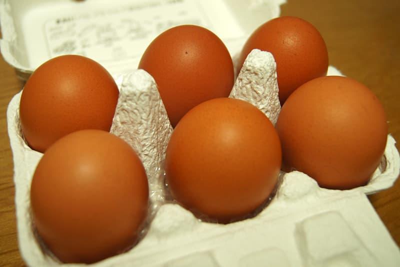 純国産鶏もみじの卵