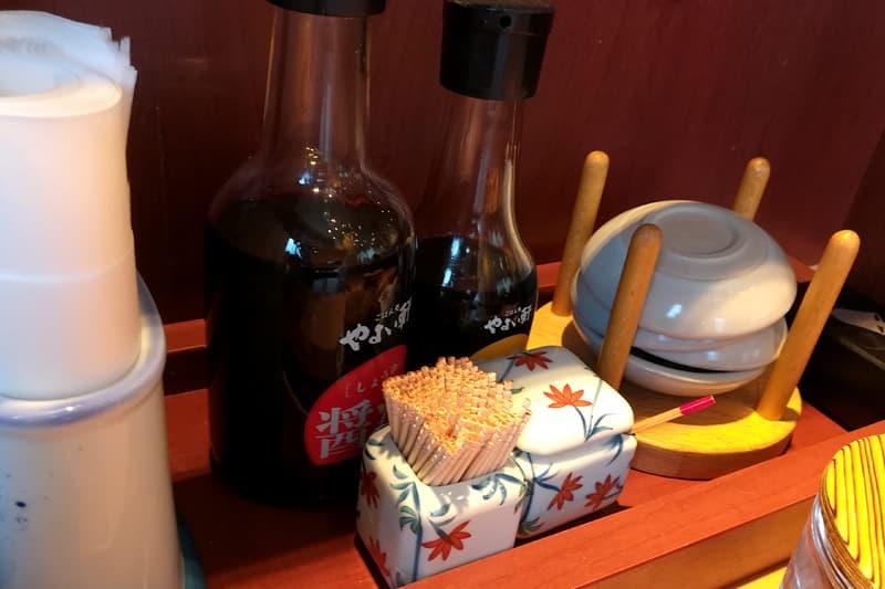 醤油とソース