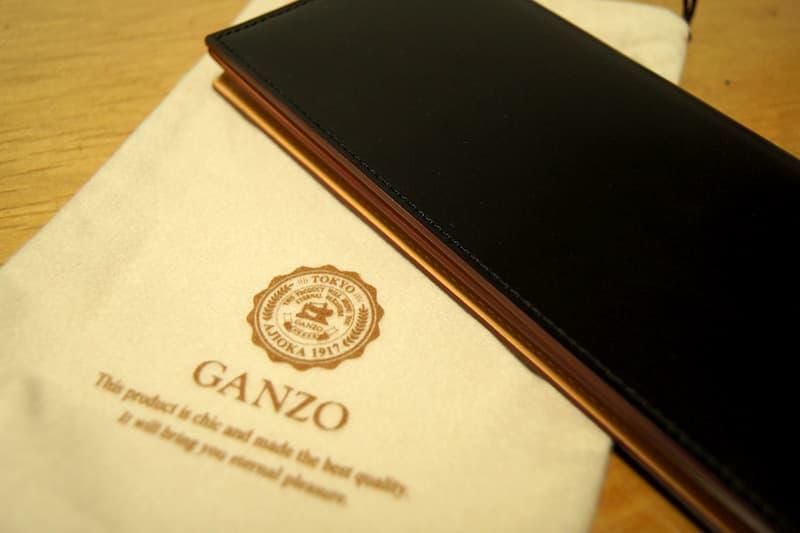 GANZO(ガンゾ)のCORDOVAN(コードバン)長財布