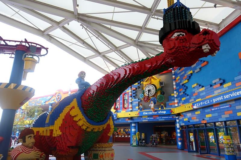 レゴのドラゴン