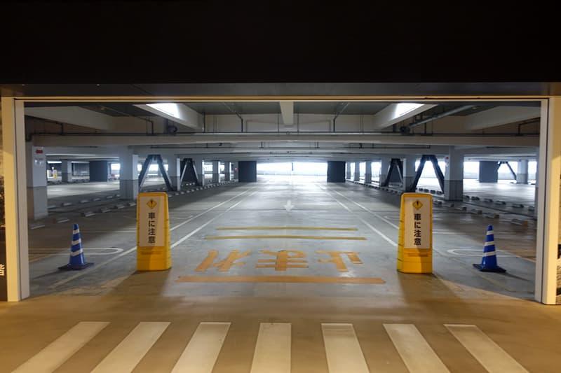古屋市金城ふ頭駐車場