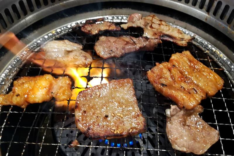 すたみな太郎の焼肉