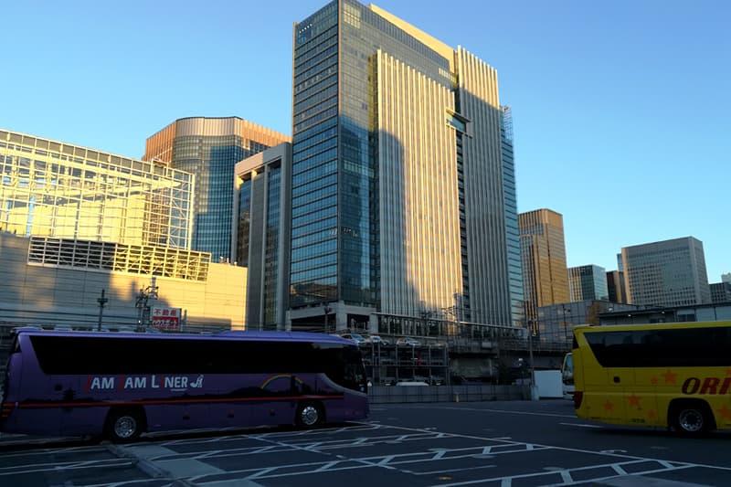 東京駅 八重洲口鍛冶橋駐車場