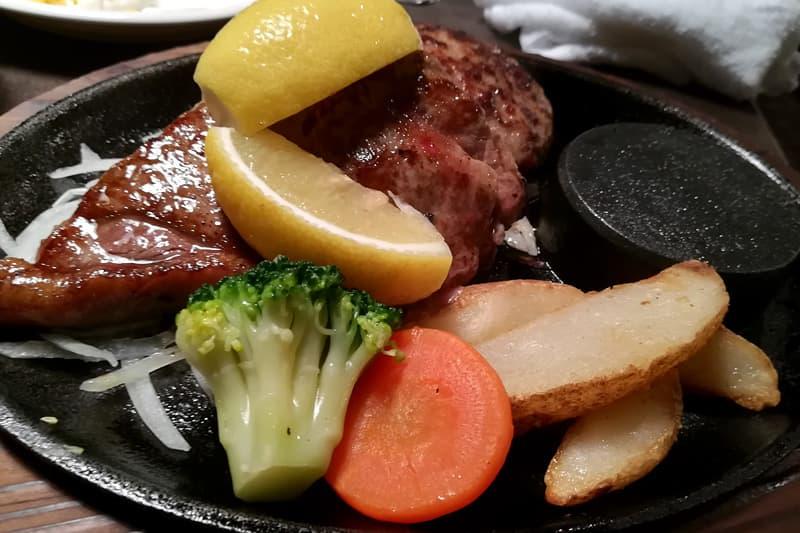 あさくまのステーキ