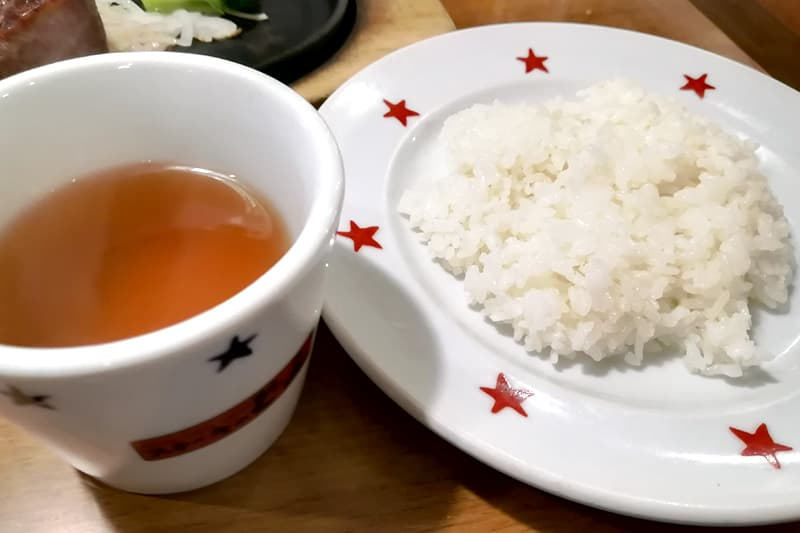 スープとライス