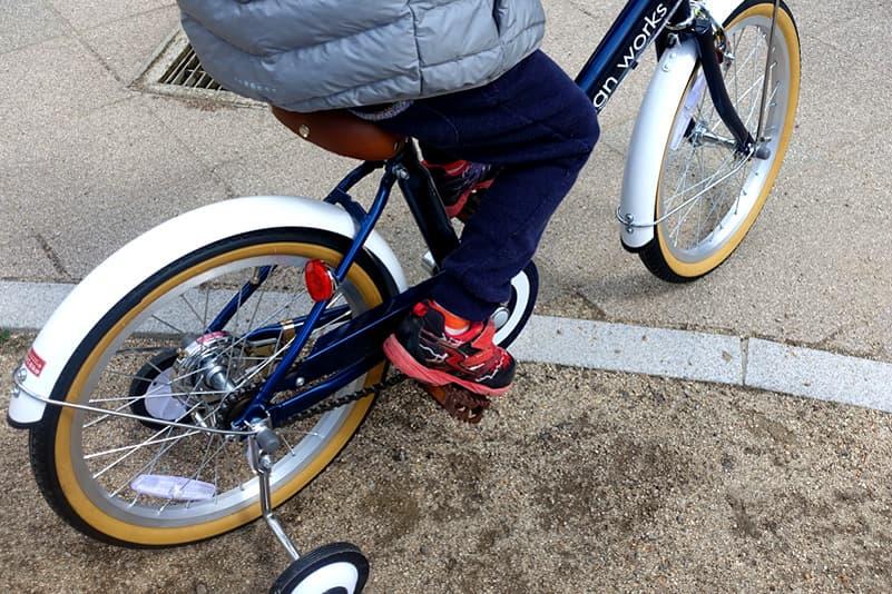 18インチの自転車