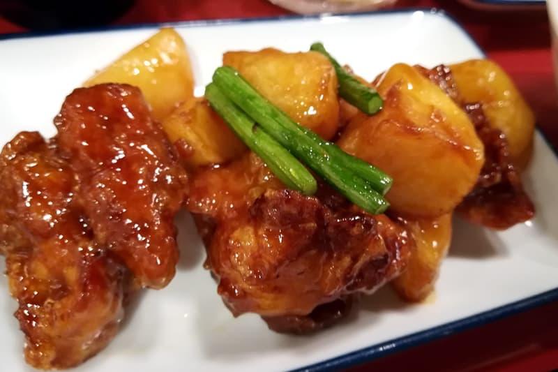 鶏とじゃが芋の照焼